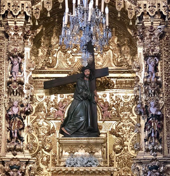 Interior do Templo do Bom Jesus da Cruz
