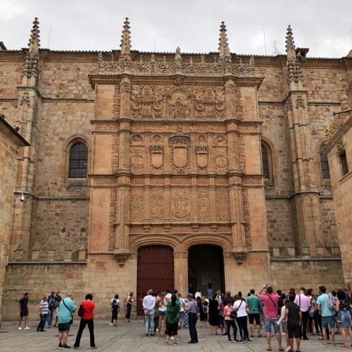 Fachada das Escolas Maiores da Universidade de Salamanca
